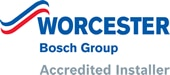 Worcester Bosch gold accredited installer