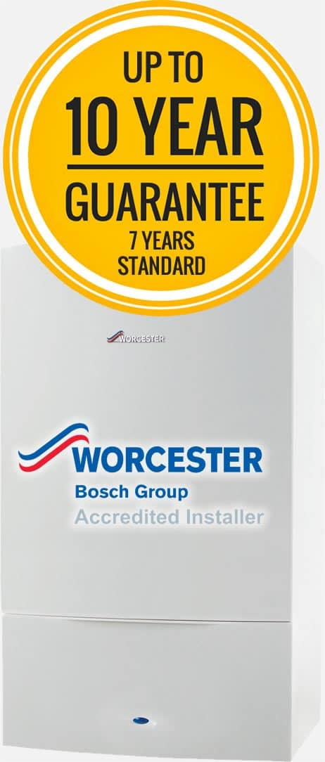 Worcester Bosch boiler quote in Wakefield
