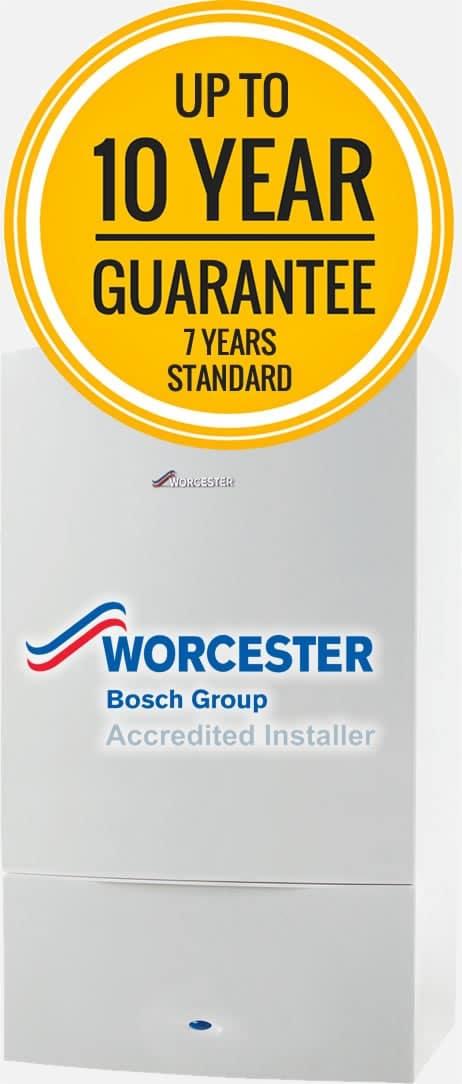 Worcester Bosch boiler quote in Wakefield
